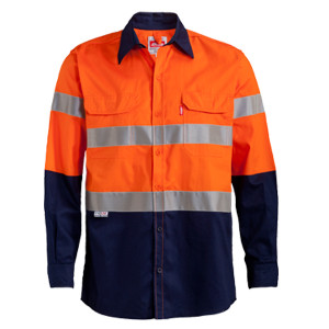 long-sleeve-reflective-work-shirt_Orange_Navy