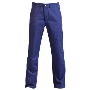 100% Cotton Trousers- Navy