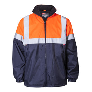 HV winter jacket  - Orange_Navy